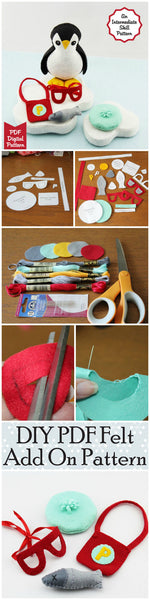 Everyday accessories felt pdf collage