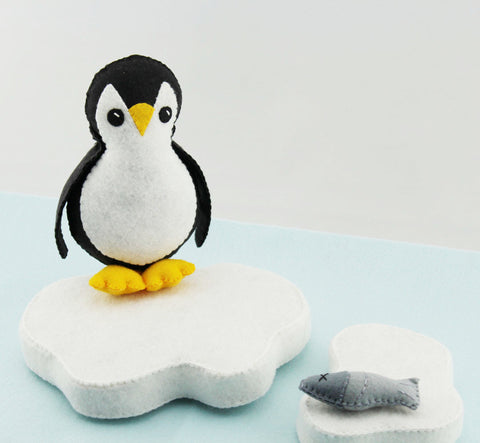 Porter The Penguin Plush Easy To Make PDF Felt Pattern