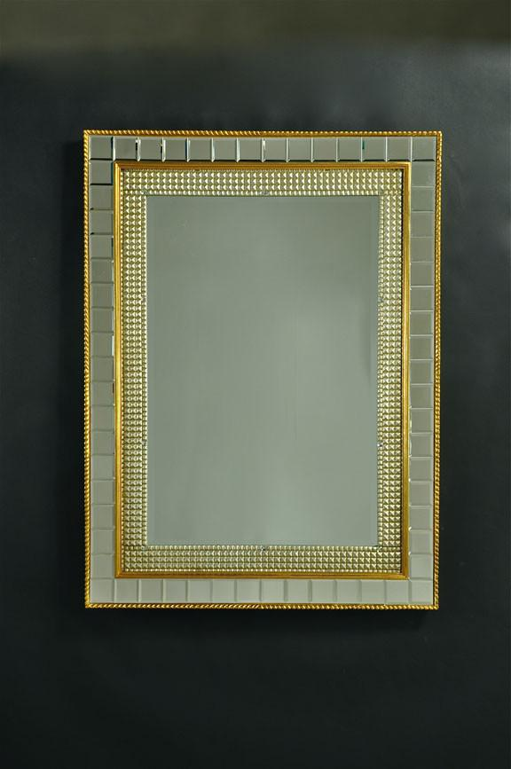 "Antique Gold Detailed Deco Baggett Ornate - 28.5"" x 38.5"""
