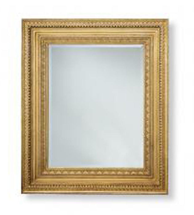 "Gold Leaf Finished Victorian Ensemble Mirror - 39"" x 46.5"""