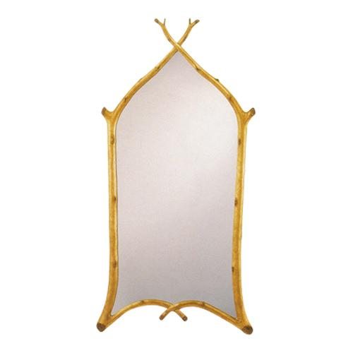 Gothic Twig Mirror - Gold Leaf