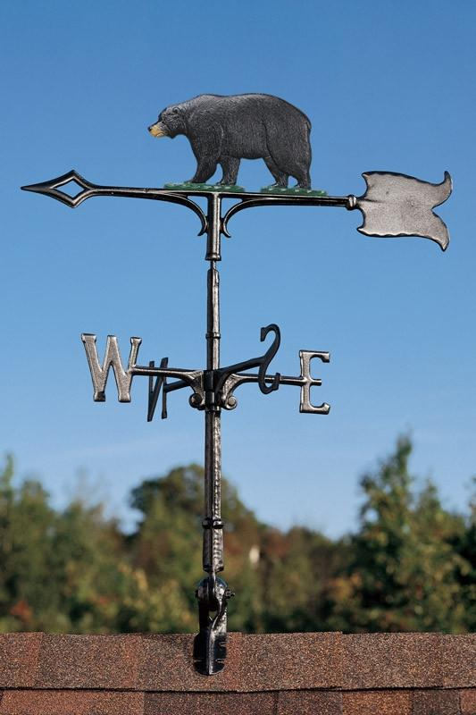 "30"" Bear Rooftop Weathervane"