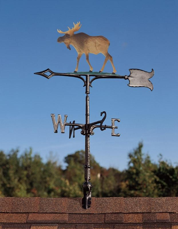 "30"" Moose Rooftop Weathervane"