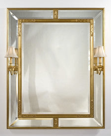 American Casetta Mirror with Sconces by Carol Canner