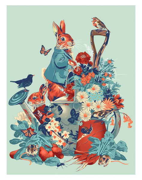 "Alexander Wells ""Peter Rabbit"" Print"