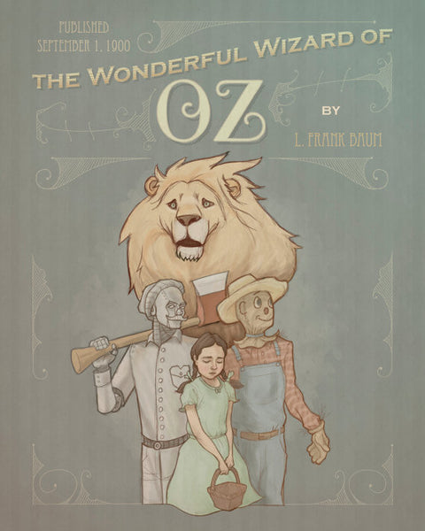 """Wizard of Oz"" Print"