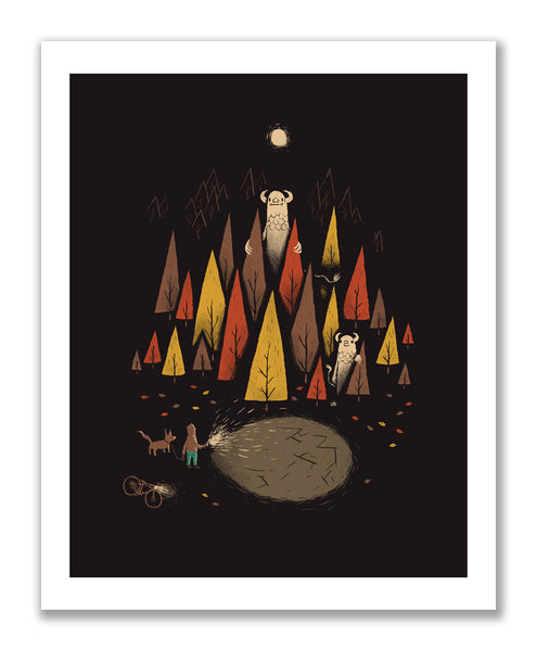 """In the Woods"" Print"