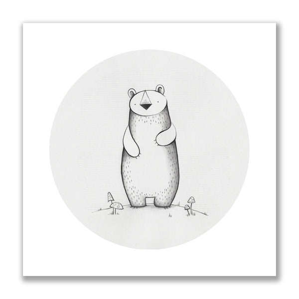 """Little Bear"" Print"