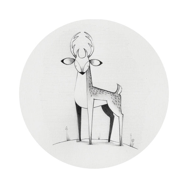 """Little Stag"" Print"