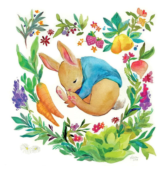 "Malisa Suchanya ""Sleeping in the Garden"" Print"