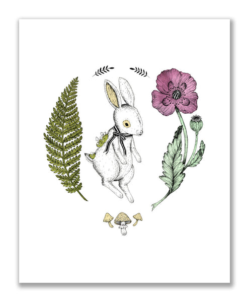 """The Rabbit"" Print"