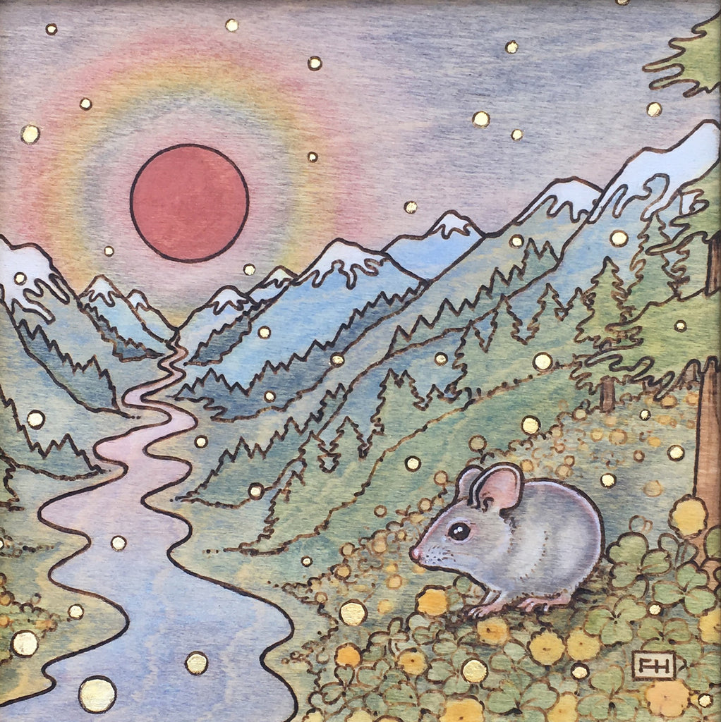 "Fay Helfer ""Mouse by the River"" Paper Print"