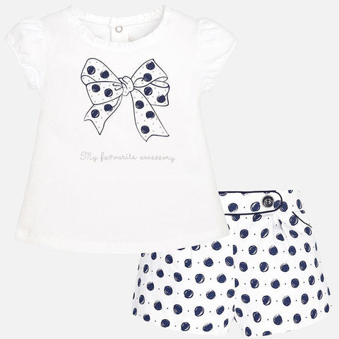 Dotted Bow Set