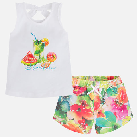 Fruit Short Set - Paparazzi