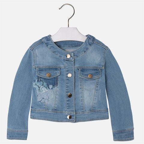Embroidered Denim Jacket - Paparazzi