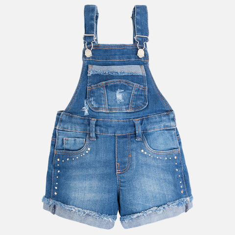 Denim Tacked Overalls - Paparazzi