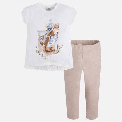 Puppy Leggings Set - Paparazzi