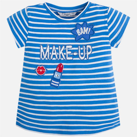 Stripe Make Up Tee - Paparazzi