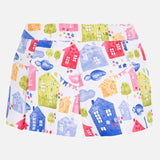 Printed Pleated Short - Paparazzi