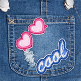 Denim Patch Overalls - Paparazzi