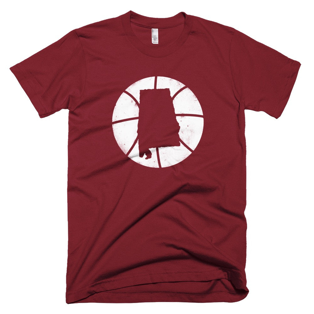 Alabama Basketball State T-Shirt - Citizen Threads Apparel Co.