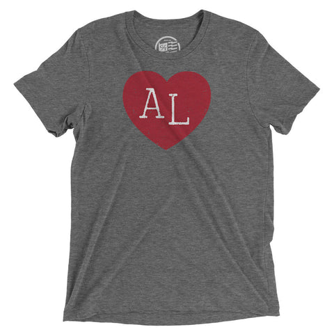 Alabama Heart T-Shirt - Citizen Threads Apparel Co. - 2