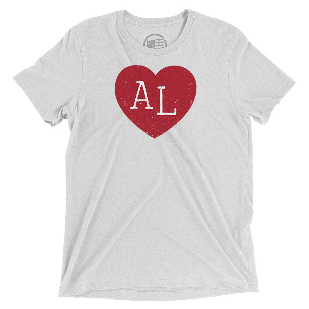 Alabama Heart T-Shirt - Citizen Threads Apparel Co. - 3