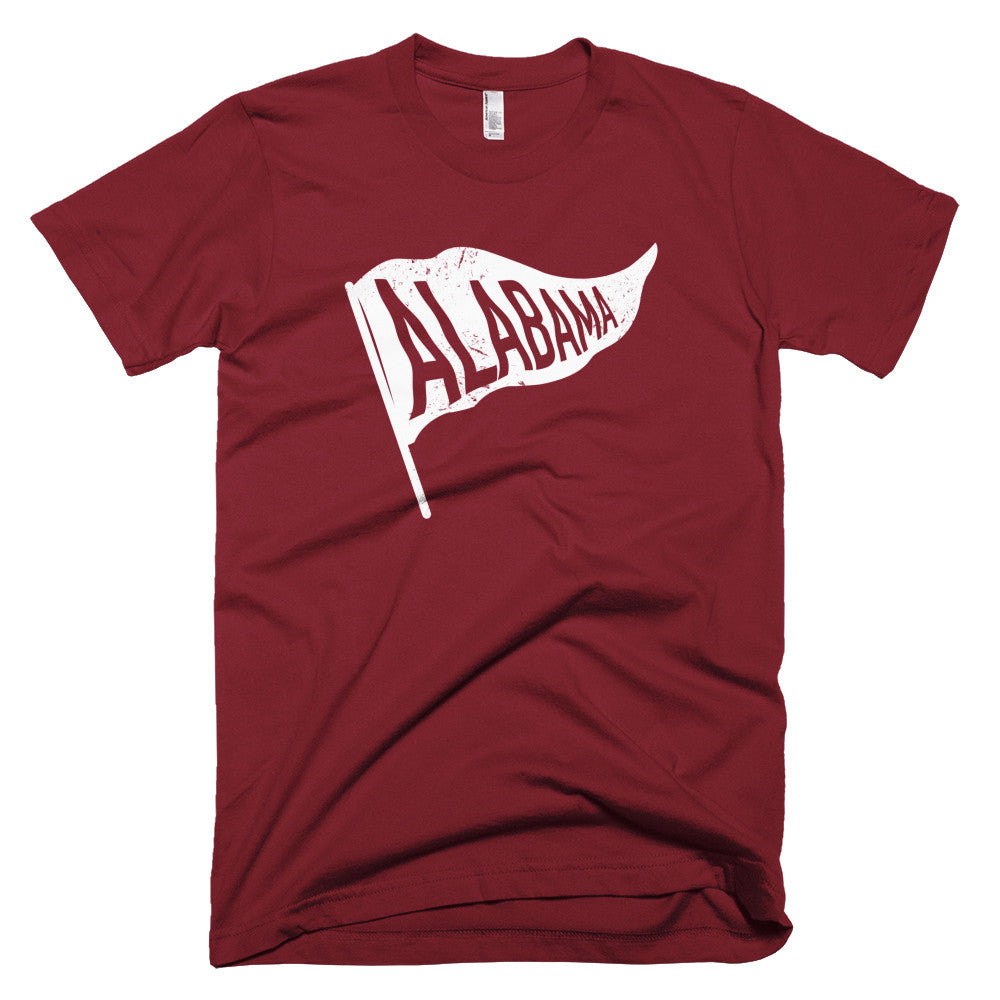 Alabama State Flag Vintage T-Shirt - Citizen Threads Apparel Co.