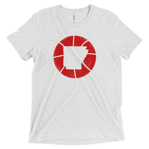 Arkansas Basketball State T-Shirt - Citizen Threads Apparel Co. - 2