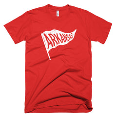 Arkansas Vintage State Flag T-Shirt - Citizen Threads Apparel Co. - 1