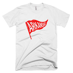 Arkansas Vintage State Flag T-Shirt - Citizen Threads Apparel Co. - 3