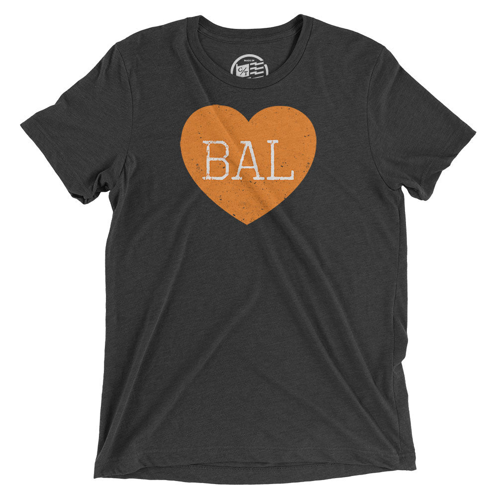 Baltimore Heart T-Shirt - Citizen Threads Apparel Co. - 1