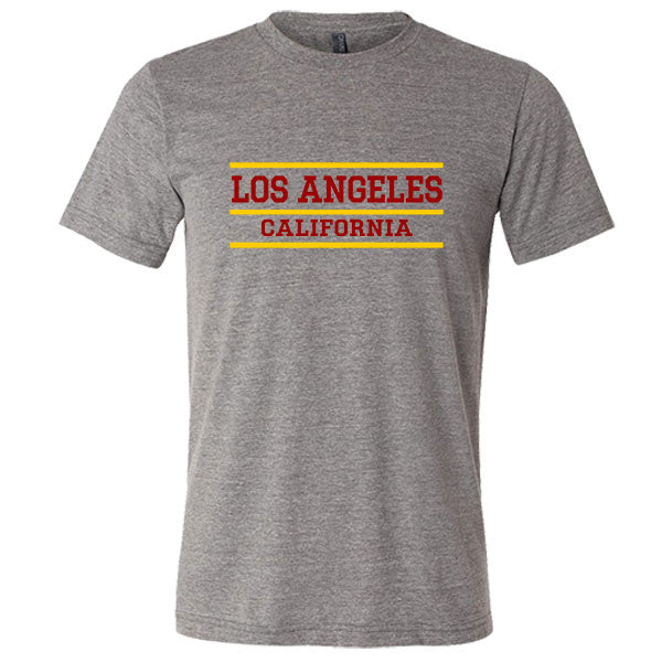Los Angeles California Tri-blend T-shirt - Citizen Threads Apparel Co. - 1