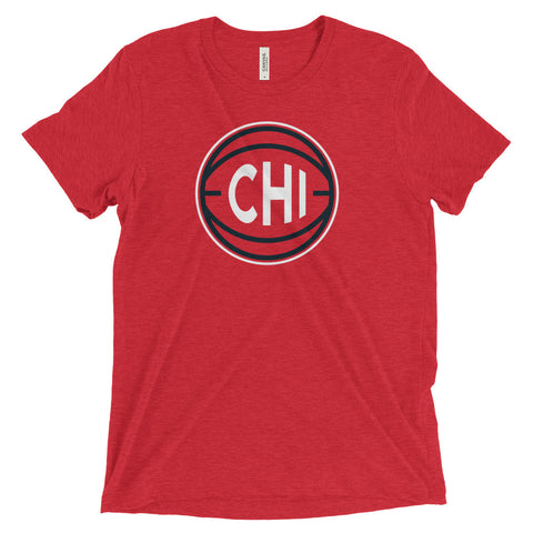 Chicago CHI Basketball City T-Shirt