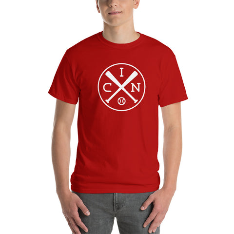 Cincinnati Crossed Baseball Bats T-Shirt