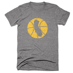 California Basketball State T-Shirt - Citizen Threads Apparel Co. - 2
