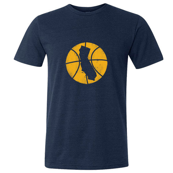 California Basketball State T-Shirt - Citizen Threads Apparel Co. - 1