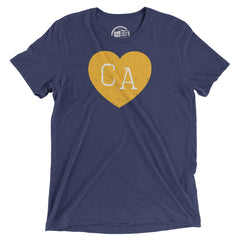 California Heart T-Shirt - Citizen Threads Apparel Co. - 1