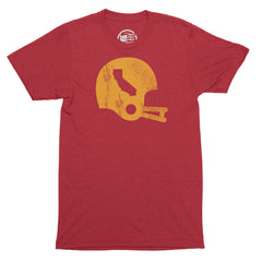 California Football State T-Shirt - Citizen Threads Apparel Co. - 1