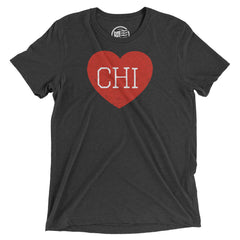 Chicago Heart T-Shirt - Citizen Threads Apparel Co. - 1