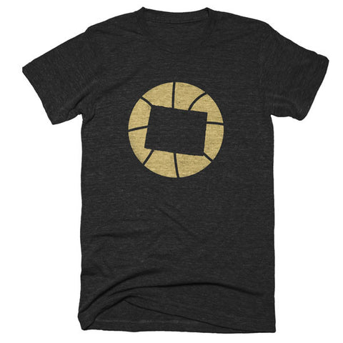 Colorado Basketball State T-Shirt - Citizen Threads Apparel Co.