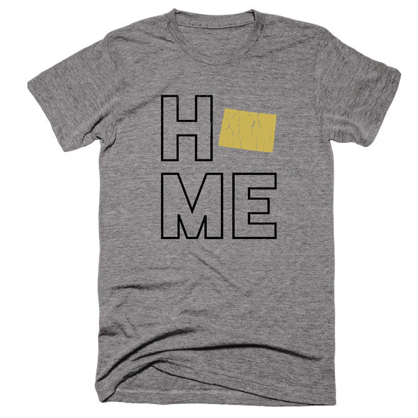 Colorado Home T-Shirt - Citizen Threads Apparel Co.
