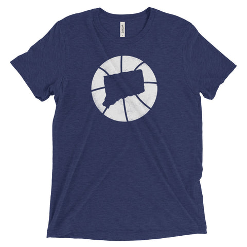 Connecticut Basketball State T-Shirt - Citizen Threads Apparel Co.