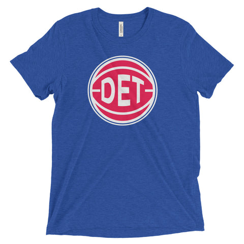 Detroit DET Basketball City T-Shirt