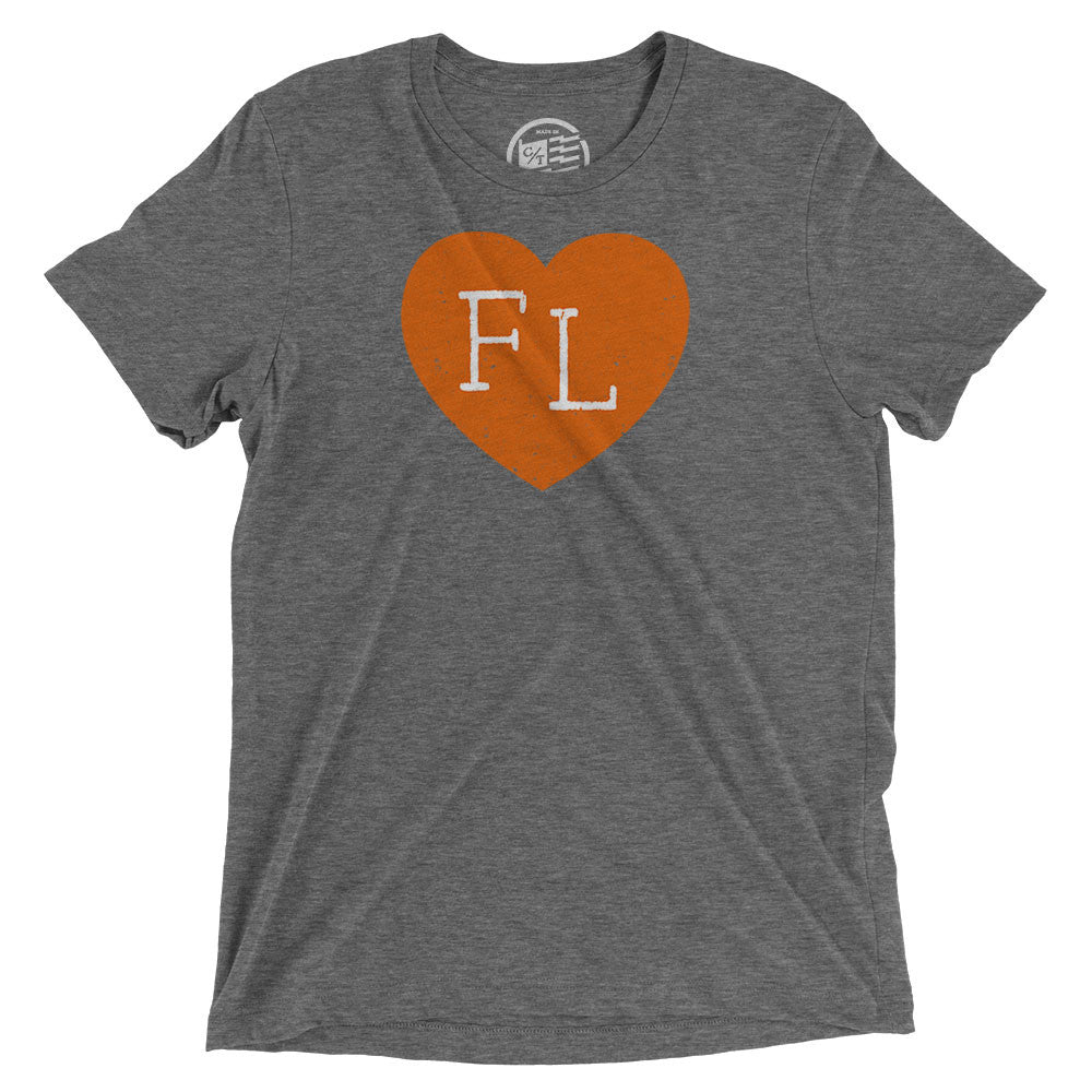 Florida Heart T-Shirt - Citizen Threads Apparel Co. - 1