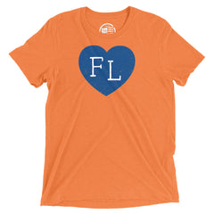 Florida Heart T-Shirt - Citizen Threads Apparel Co. - 3