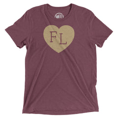 Florida Heart T-Shirt - Citizen Threads Apparel Co. - 4