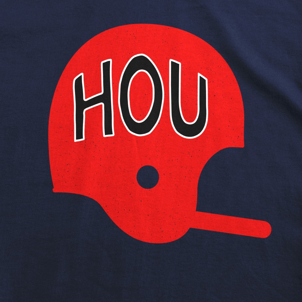 HOU Football Helmet Kids T-Shirt