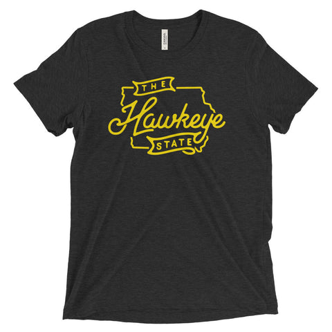 "Iowa ""The Hawkeye State"" Unisex T-Shirt"