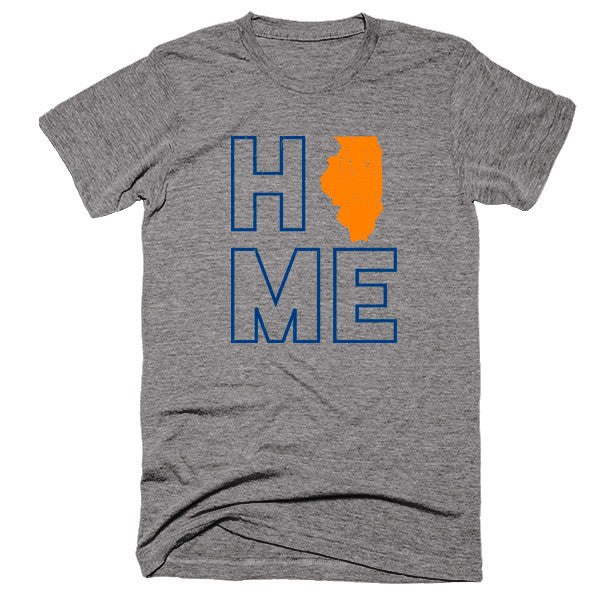 Illinois Home T-Shirt - Citizen Threads Apparel Co.